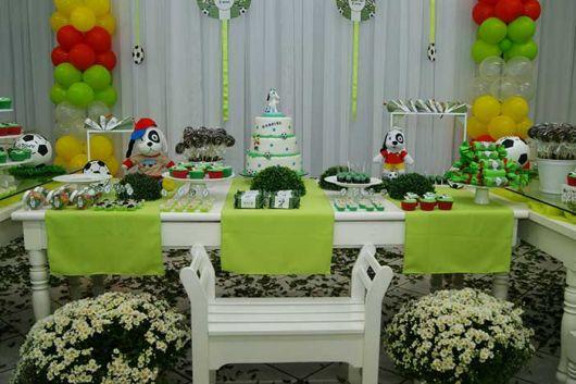 decoração da festa do doki
