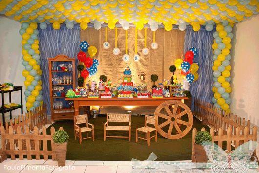 temas para aniversário infantil da Galinha Pintadinha