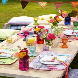 festa infantil piquenique decoracao mesa