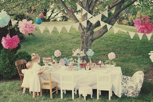 festa infantil piquenique vintage