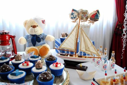 temática ursinho marinheiro
