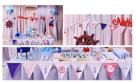 dicas para fazer aniversário marinheiro