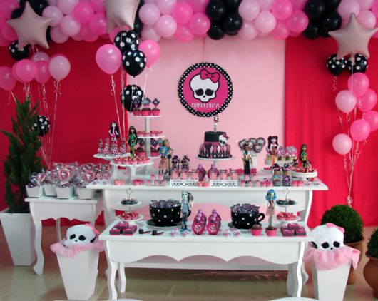 Fotos de Festa Monster High infantil