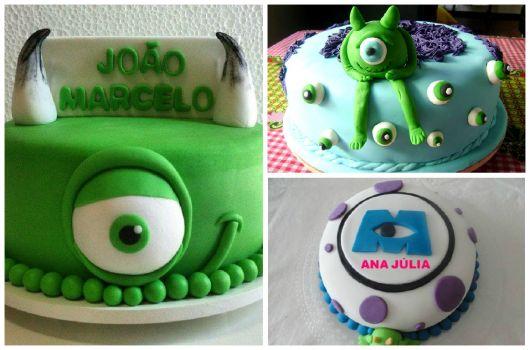 fotos de bolos monstros SA