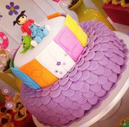 bolo feminino monstros SA