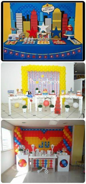 fotos de festas infantis enfeitadas