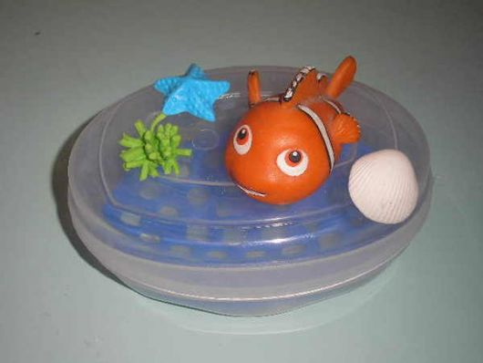 linda saboneteira do Nemo