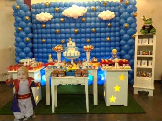 festa pequeno príncipe 1 aninho