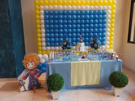 foto da festa pequeno príncipe moreno