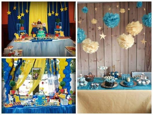 fotos de aniversário infantil simples pequeno príncipe