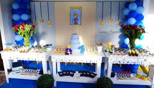 festa pequeno príncipe 1 ano