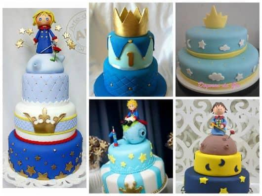 modelos de bolos do pequeno príncipe