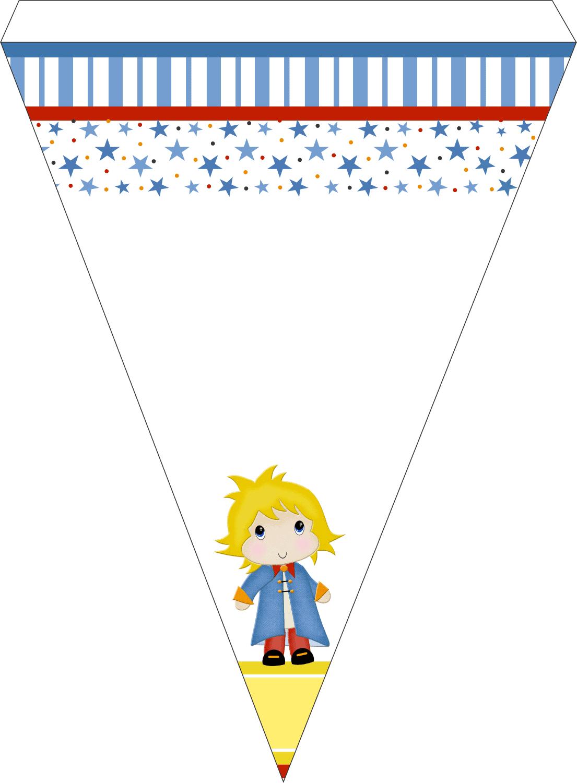 bandeirinha pronta para recortar