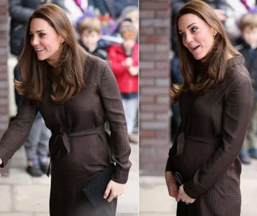 Princesa Kate grávida