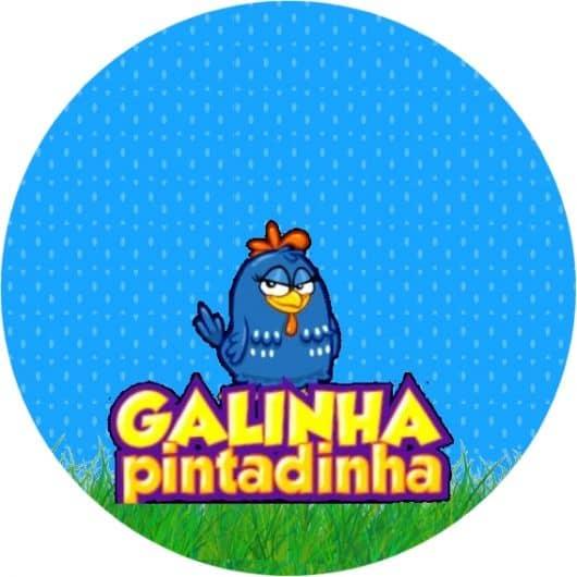 etiqueta da galinha pintadinha de imprimir