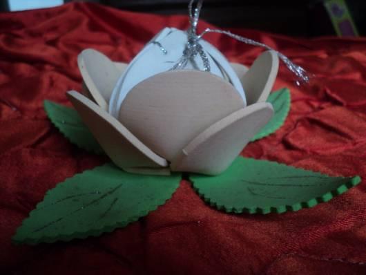 flor de EVA para lembrancinha de festa