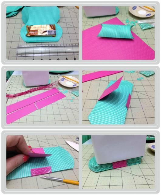 como fazer lembrancinha com papel