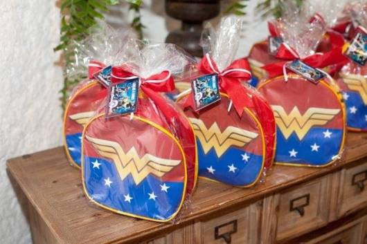 lembrancinha bolsinha super heróis