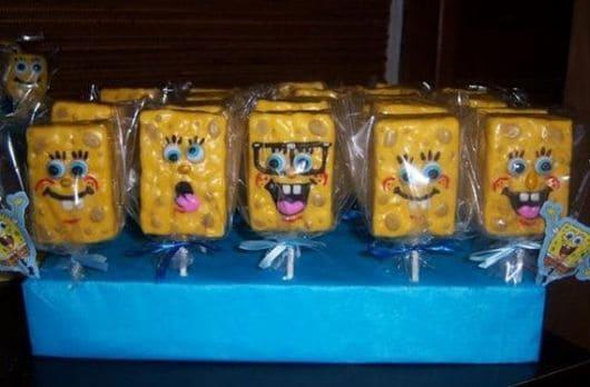 festa do bob esponja personalizada