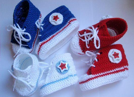 cores de sapatinhos all star bebê