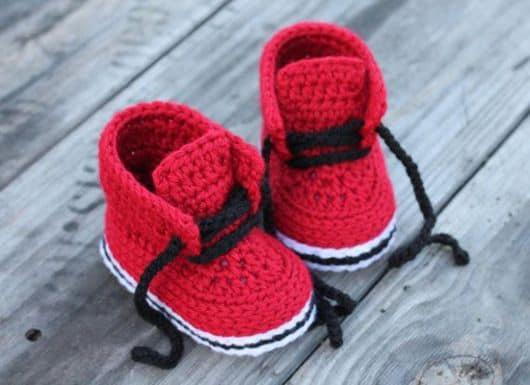 botinhas de bebê