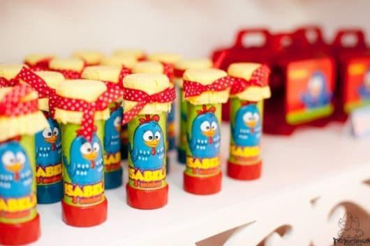 embalagens para docinhos da galinha pintadinha