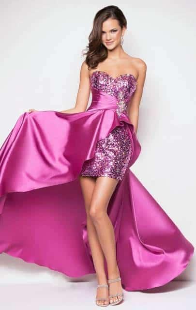 Modelos de vestido de paetê para 15 anos