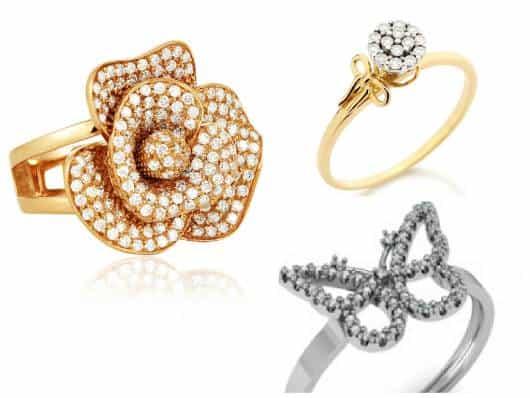 anel debutante delicado