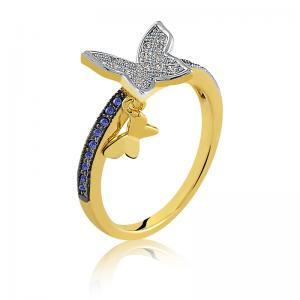 anel de debutante com pingente