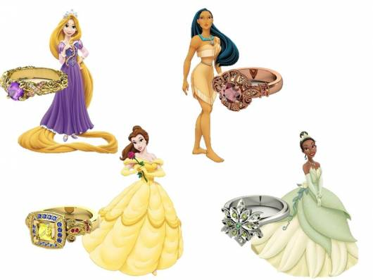 anel de debutante princesas