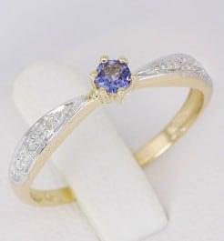 anel com pedra para debutante