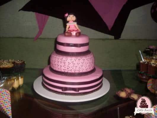 lindo modelo de bolo jolie