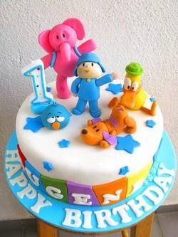 foto de bolo de 1 ano