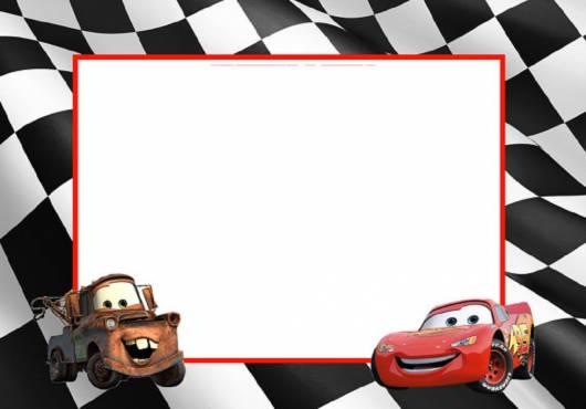 lindo convite do tema carros
