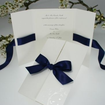 convite 15 anos azul simples