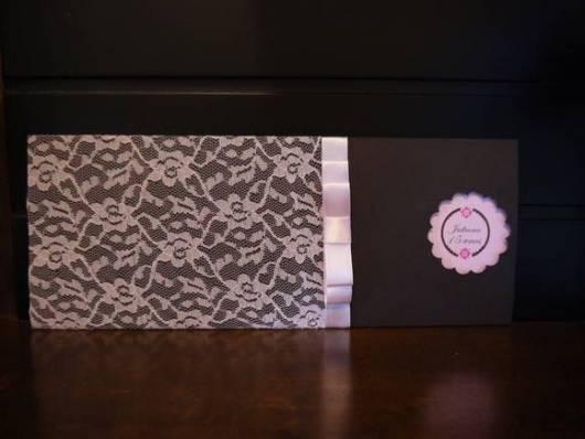 convite de 15 anos rosa e marrom