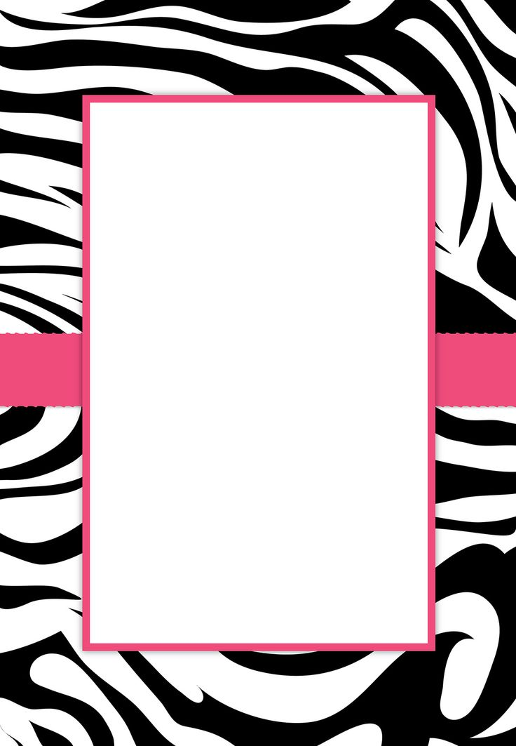 Leopard Print Invitations Templates as great invitation sample