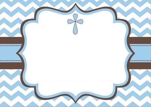 convite de batizado de menino para imprimir