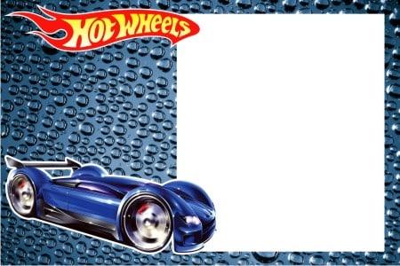 convite hot wheels pronto para impressao