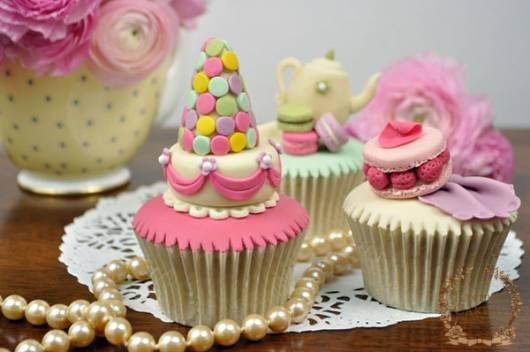 ideias para modelos de cupcake jolie