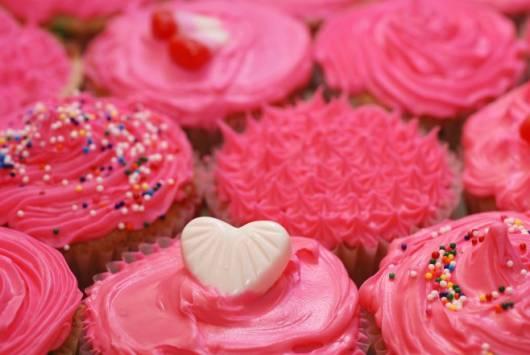 lindo cupcake jolie rosa pink