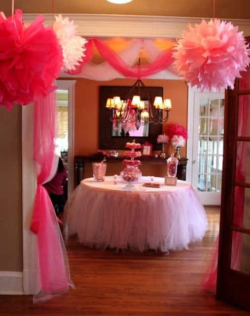 festa pink para meninas