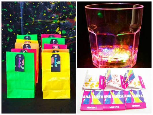 Sushi Balada Neon Lembrancinhas Personalizadas Festa