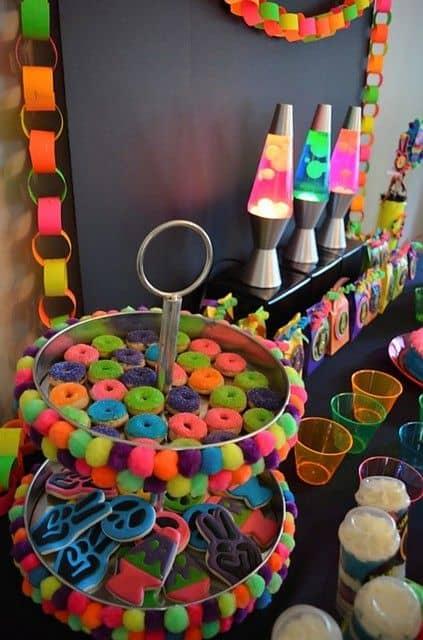 festa neon de 15 anos