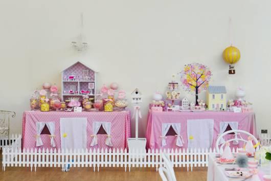 festa casa de boneca