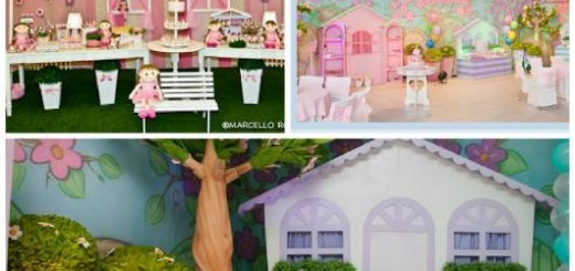 ideias festa casa de boneca