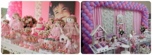 ideias para festa provençal de bonecas