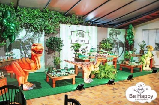 festa desenho rei dinossauro