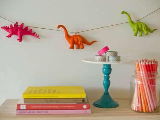 ideia decoração para festa dinossauro