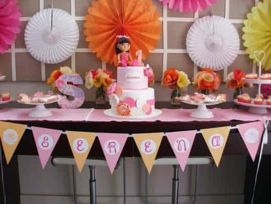 linda decoração Dora clean